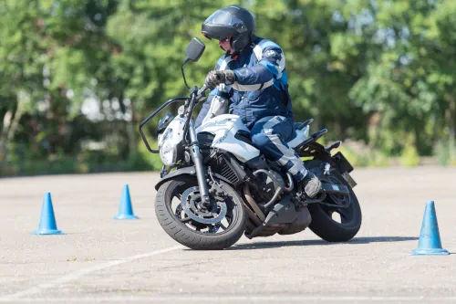 Motorrijbewijspoint Brabant motor rijtest